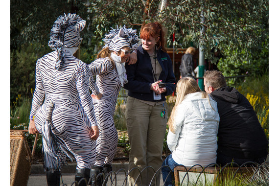 <p>Zebra talk - 2nd Place - Set Subject Digital: Candid <small>&copy; Tania Chalmers</small></p>