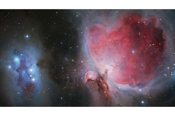 <p>1st - B Grade: Set Digital - Orion and the Running Man Nebulas <small>&copy; Carl Rainer</small></p>