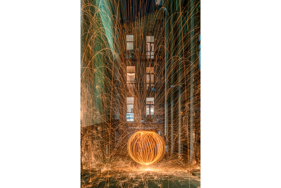 <p>HC - A Grade: Set Digital - Spinning Steel Wool <small>© Karl Zeller</small></p>