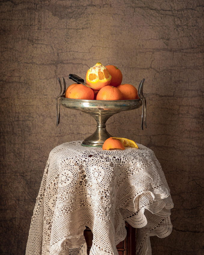 Still Life with Oranges by Robert Moyses