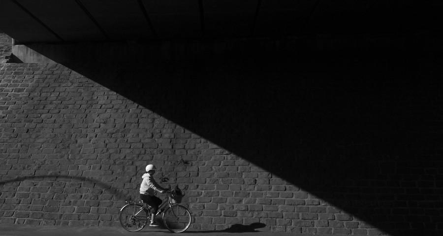 The Shadow Cyclist by Mario Xerri