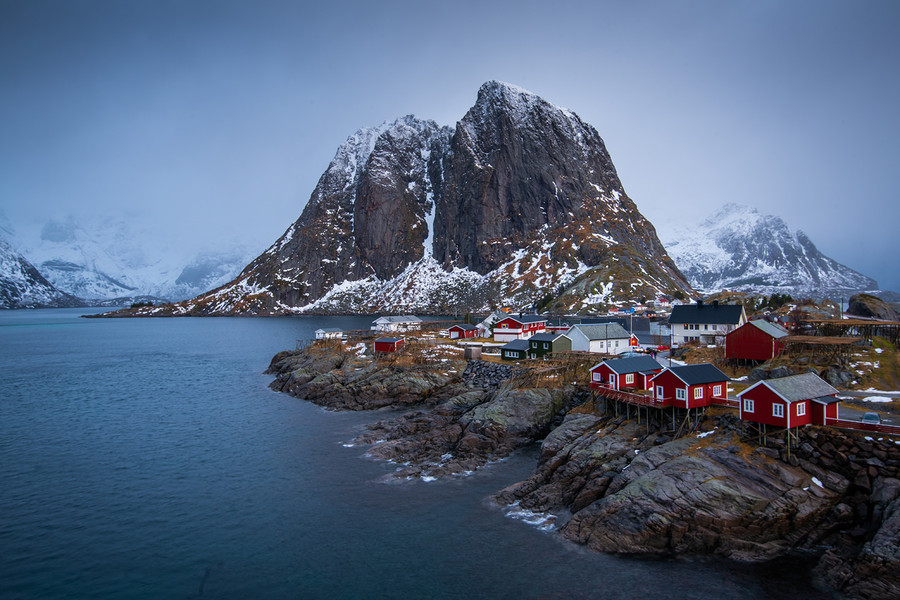 Hamnoy by Neil Anderson