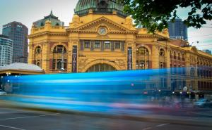 Melbourne Tram by Trudy Purchas